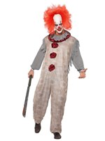 Adult Vintage Clown Costume