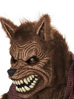 Adult Werewolf Ani Motion Mask