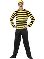Adult Where's Wally Odlaw Costume [41309]