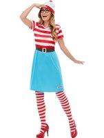 Adult Where's Wally Wenda Costume [50281]