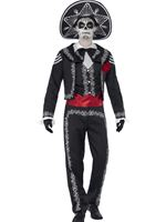 Adult Senor Bones Costume [43738]