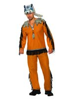 Adult Wolf Spirit Costume