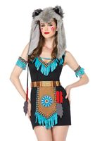 Adult Wolf Warrior Costume [85205]