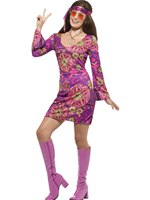 Adult Woodstock Hippie Chick Costume
