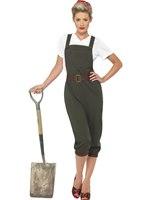Adult WW2 Land Girl Costume [39491]