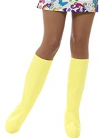 Adult Yellow GoGo Boot Covers