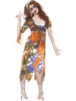 Adult Zombie 60s Hippie Lady Costume [61105]