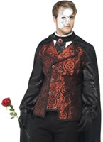 Adult Dark Opera Masquerade Costume [24574]