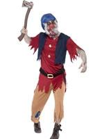 Adult Zombie Dwarf Costume