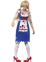 Adult Zombie Bavarian Female Costume