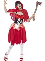 Adult Zombie Red Riding Costume