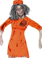 Adult Zombie Death Row Diva Costume [40053]