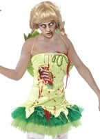 Adult Zombie Tink Fairy Costume