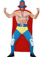 Adult Mexican Wrestler Costume [43667]