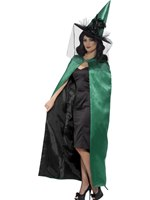 Adult's Deluxe Reversible Witches Cape
