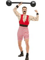 Adults Deluxe The Greatest Showman Strongman Costume [50807]