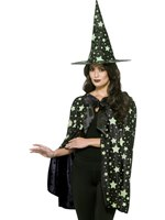 Adult's Midnight Glow in the Dark Witch Kit