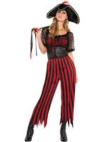 Adults Pirate Striped Pants
