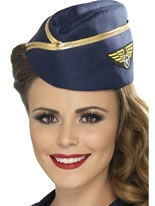 Adult Air Hostess Hat [23261]