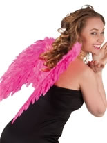 Angel Wings Hot Pink