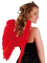 Angel Wings Red