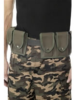 Army Belt with Pouches [28325]