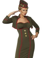 Army Girl Costume [35331]