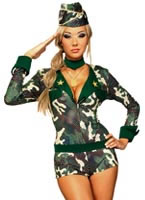 Adult Army Girl Costume [888124]