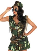 Army Girl Costume [FS2163]