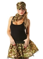 Army Girl Tutu Kit [30721]
