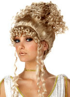 Adult Athenian Goddess Blonde Wig