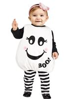 Toddler Baby Boo Ghost Costume [117221]