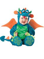Baby Deluxe Dinky Plush Dragon Costume