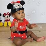 Baby Disney Minnie Mouse Jersey Bodysuit