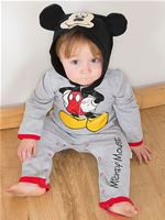 Baby Disney Mickey Mouse Jersey Romper