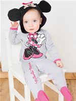 Baby Disney Minnie Mouse Jersey Romper