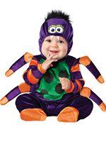 Baby Plush Itsy Bitsy Spider Costume [16010]
