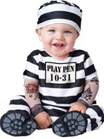 Baby Time Out Prisoner Costume [16015]