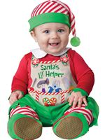 Baby Santas Lil Helper Costume