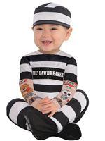 Baby Lil Law Breaker Costume [846804-55]