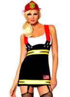Adult Backdraft Babe Costume [83626]