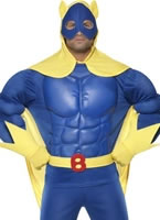 Adult Bananaman Muscle Chest Costume [39556]