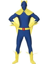Adult Bananaman Second Skin Costume [24239]