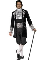 Baroque Mens Vampire Costume [28332]