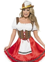 Adult Bavarian Beer Wench Oktoberfest Costume