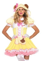 Adult Beary Cute Goldilocks Costume [83894]
