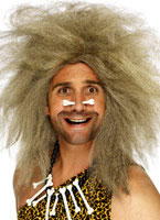 Big Cavemans Wig Mousey Brown
