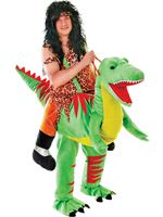 Adult Deluxe Step In Dinosaur Costume