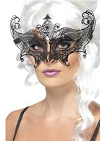 Adult Farfalla Metal Filigree Eyemask [26623]