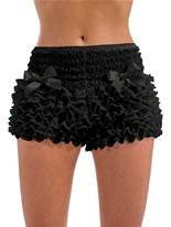Adult Burlesque Black Bustle Pants [FS3126]